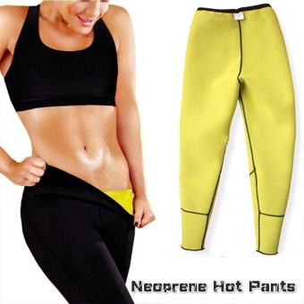Women & Men Body Shaper Long Slimming Neoprene Hot Sweat Pants for Weight Loss - intl