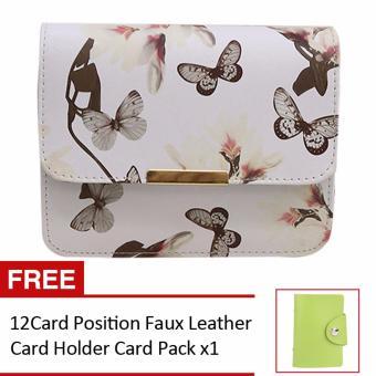 Women Crossbody Sling Shoulder Bags(White) - 5
