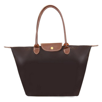Women Fashion Hobo Bag Large Tote Shoulder Handbag (Coffee) - Intl
