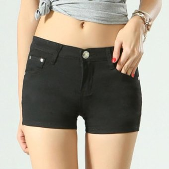 Women Ladies Candy Color Shorts Summer Denim Short Pant Jeans -intl - 3