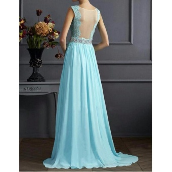 Women Long Formal Prom Dress Cocktail Party Ball Gown EveningBridesmaid Dress - intl - 3