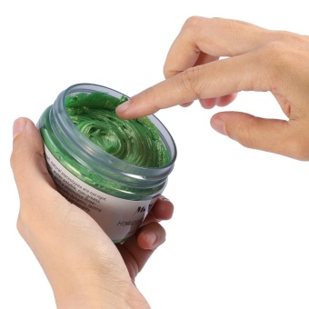 Women Men Disposable Hairstyle Modeling Hair Coloring Wax(Green) -intl - 3
