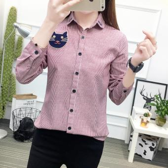 Women Office Lady Fashion Blouse Tops Shirt S/M/L/XL - intl Price Philippines