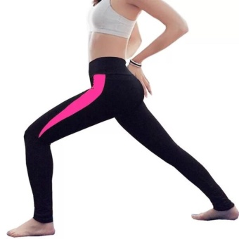 Women Patchwork Yoga Pants Sports Workout Running Quick DryTrousers Female Gym Fitness Compression Stretch Slim TightsLeggings