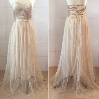 Women Prom Gown Party Cocktail Evening Formal Wedding Long Dress
