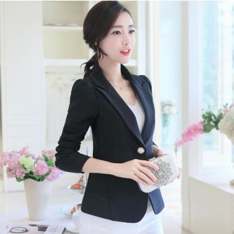 Women Spring Summer OL Blazers Suit Coats Slim Office Causal Female Outwear - intl