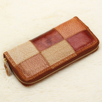 Women Wallet Brand Design Genuine Leather Multicolor Color (Intl)