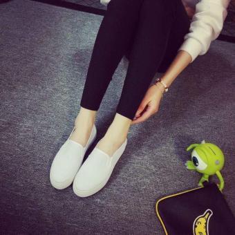 Women's Canvas Slip On Loafer - White - 2