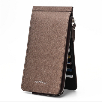 Women's Korean-style Mini Ultra-thin Multi Card Holder Purse (Bronze color)
