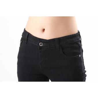 Women's Max Shape Black Skinny Jeans - 2