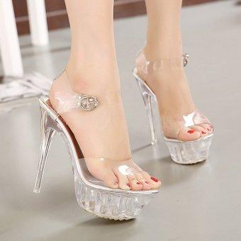 Women's Platform High Heels large size Sandals - intl - 3