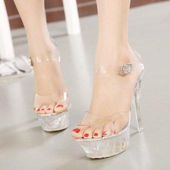 Women's Platform High Heels large size Sandals - intl - 5