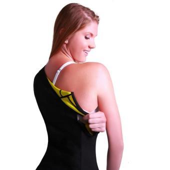 Women's Slimming Vest Hot Sweat Body Shaper Shirt for Weight Loss Tank Top Neoprene Vest Redu Tops - intl - 5