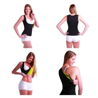 Women's Slimming Vest Hot Sweat Body Shaper Shirt for Weight Loss Tank Top Neoprene Vest Redu Tops - intl