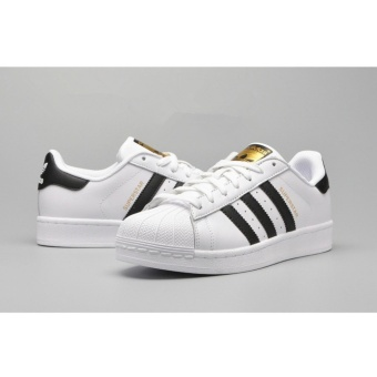 Women's Sneakers For Originals Superstar White Black Gold - intl