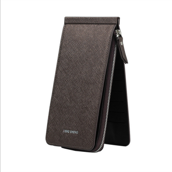 Women's ultra-thin card holder (Light Brown)