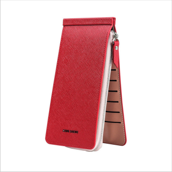 Women's ultra-thin card holder (Red)