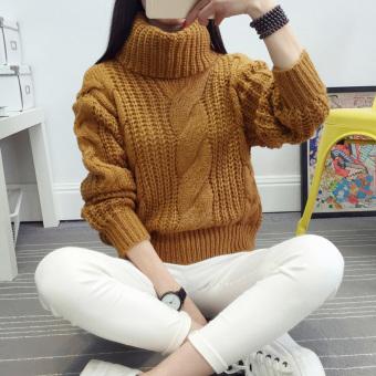 Womenenooe Cardigan Knitted Sweater Juper Outwear Coat Top (Khaki) - 4