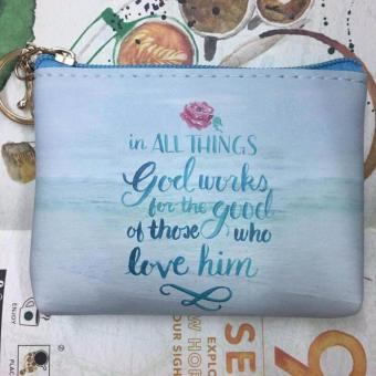 Women's Bible Verse Coin Purse (IN ALL THINGS)