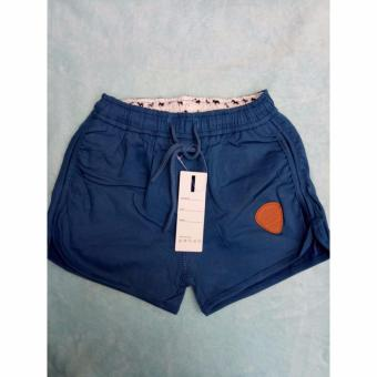 Women's Casual Dolphin Shorts (Blue)