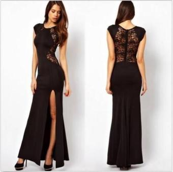 Womens Long Sexy Evening Party Ball Prom Gown Formal Maxi Cocktail Dress - intl