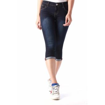 Women's Plain Easy Fit Cropped Jeans Price Philippines