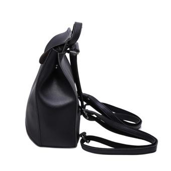 Women's Pu Leather Backpack Purse Ladies Casual Shoulder Bag SchoolBag for Girls - intl - 3