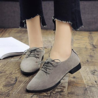 Women's Shoes 2017 New British Spring Spring Single Shoes FemaleFashion Models - intl Price Philippines
