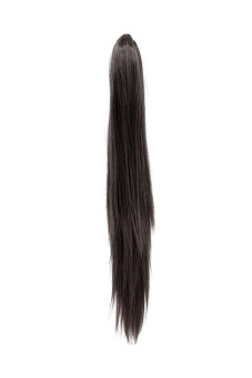 Women's Straight Claw Pony Tail Extension (Black)