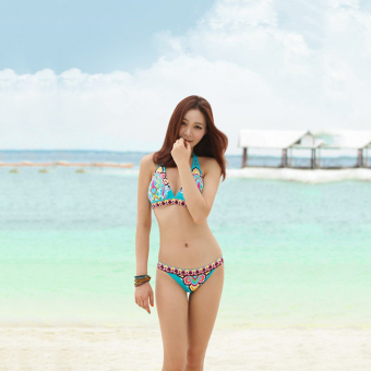 Womens Swimsuit Swimwear Two-Piece Split Ethnic Style Bikini Sets Price Philippines