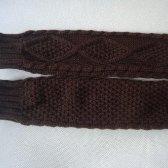Women's Warm Winter Gloves Mittens Coffee - Intl - picture 2