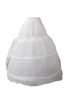 Women's Wedding Prom Party Yarn Petticoat 95cm White - picture 2