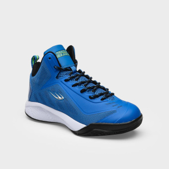 World Balance Boys Advance Step Basketball Shoes (Blue)
