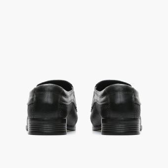 World Balance Easy Soft Mens Gustav Dress Loafers (Black) - 4