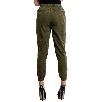 Wrangler Ladies' Jogger Pants (Green) - 4