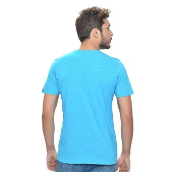 Wrangler Men's Graphic T-Shirt (Blue Danube) - picture 2