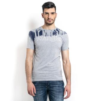 Wrangler Men's Graphic T-Shirt (Mid Gry Melange)