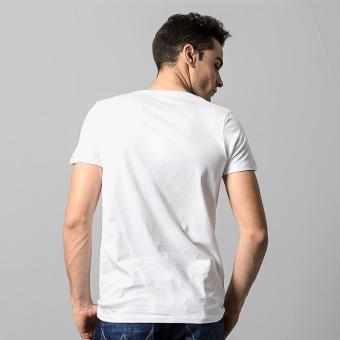 Wrangler Men's Muscle Shirt (White) - Pack of 3 - 3