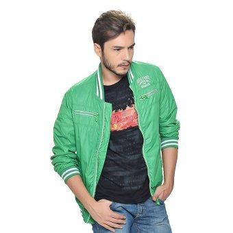 Wrangler Men's Nylon Jacket (Viridis)