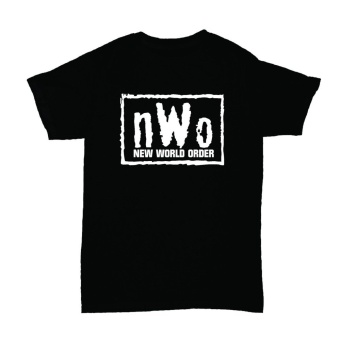 WRESTLING T SHIRT NWO NEW WORLD ORDER