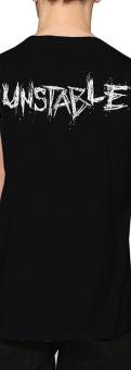 WWE Dean Ambrose Initials Unstable Design Custom Fashion MensCotton T-shirt(Black) - intl - 2