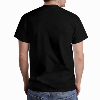 WWE Dean Ambrose Initials Unstable Design Custom Fashion MensCotton T-shirt(Black) - intl - 3