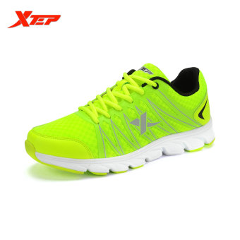 XTEP 2015 Autumn Outdoor Traveling Sneakers Mens Running Shoes Athletic Sports Trainers Shoes (Green) - intl