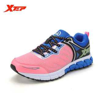 XTEP 2016 Breathable Running Shoes for Women Light Weight Mesh Trainers Shoes Athletic Shoes Women's Sport Sneakers (Pink) - intl