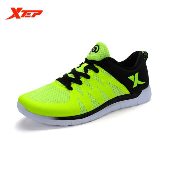 XTEP Brand Running Shoes for Men Athletic Trainers Shoes (Green) - intl