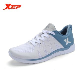 XTEP Brand Running Shoes for Men Athletic Trainers Shoes (White) - intl