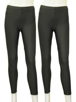 Yabyab Store Work-out Leggings (Gray)- Pack of 2