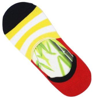 Yazilind Low Cut Socks (Multicolor)