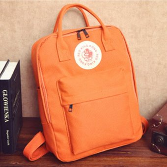 YingWei New Fashion Canvas Women Backpack School bag For Women BackPack School Bags Orange Price Philippines
