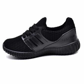 ZAC | A-01 Unisex Fashion Sneakers Kids Shoes (Black) - 3